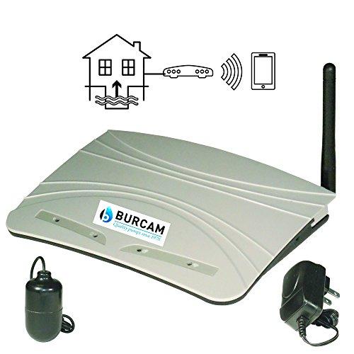 BURCAM 450455 Wi-Fi Watcher Basement Sump Pump Water Level Alarm