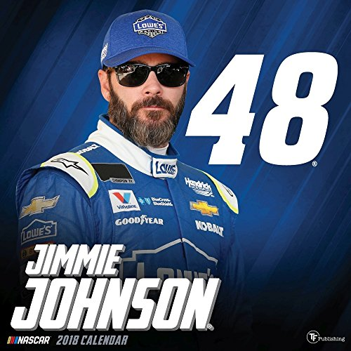 2018 Jimmie Johnson Wall Calendar