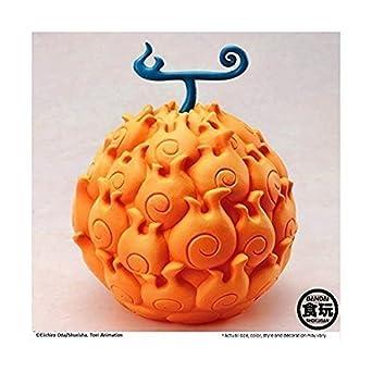 Amazon ワンピース One Piece The Devil Fruit メラメラの実 食玩