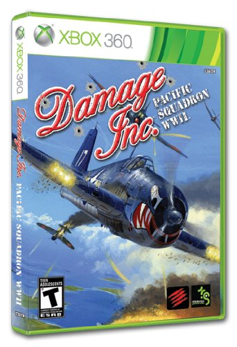 Damage Inc., Pacific Squadron WWII - Xbox 360 (Xbox 360 Air Combat)
