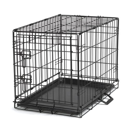 Proselect Easy Dog Crates for Dogs and Pets - Black; Extra Large