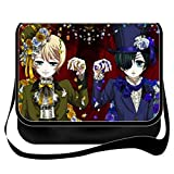 YOYOSHome Anime Black Butler Cosplay Messenger Bag Shoulder Bag Handbag Crossbody Backpack School Bag