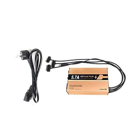 CUEYU - Cargador de batería 4 en 1 para dji Phantom 4 4PRO / 4PRO ...