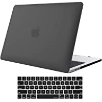 ProCase MacBook Pro 13 Case 2019 2018 2017 2016 Release A2159 A1989 A1706 A1708, Hard Case Shell Cover and Keyboard Skin Cover for Apple MacBook Pro 13 Inch with/Without Touch Bar and Touch ID –Black