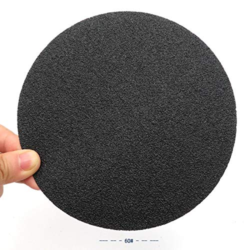 Maslin 80PCS 155MM Waterproof Sandpaper Hook and Loop Sanding Discs Silicon Carbide 3000/5000/7000/10000 Assorted Grits by Maslin (Image #2)