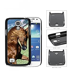Galloping Thoroughbred Horse Hard Plastic Snap On Cell Phone Case Samsung Galaxy S4 SIV Mini I9190