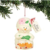 Department 56 Snowpinions Nice Bongos Hanging Ornament, 3 Inch (Multicolor)