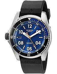 Men's A9601258-00 Descender Sport Analog Display Swiss Quartz Black Watch