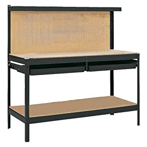 Gorilla Rack Gr2102b 5 Feet Workbench With 2 Drawers