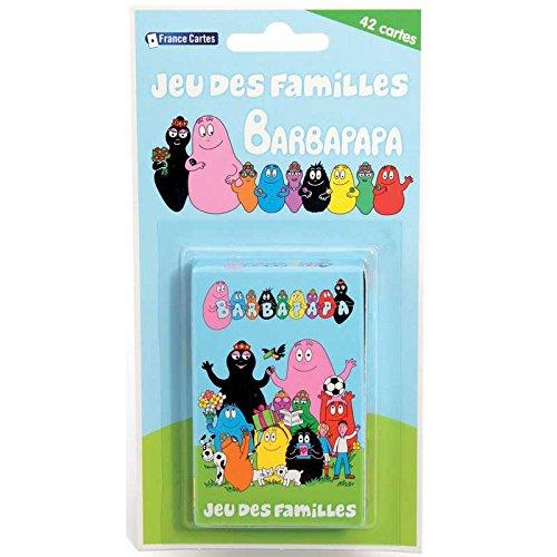 France Cartes - 404528 - Jeu de Plein Air - Jeu de 7 Familles - Barbapa