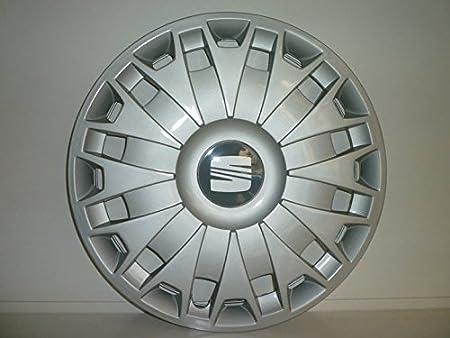 Juego de Tapacubos 4 Corpicerchio Diseño Seat Ibiza Desde 2008 r 15: Amazon.es: Coche y moto