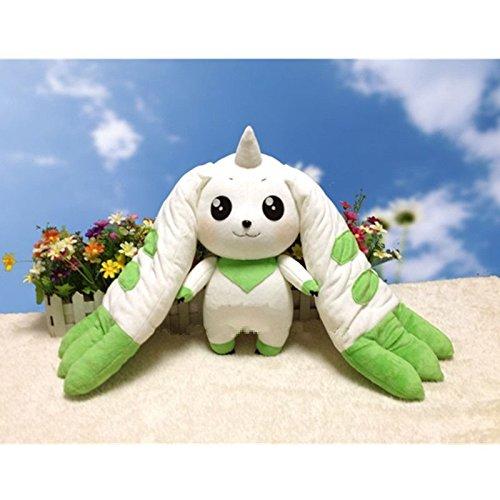 "18"" Terriermon Anime Digital Monster Adventure Plush Toy Stuffed Doll"