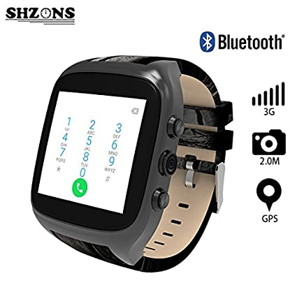 Amazon.com: UTP New X01S 2.0M HD Camera Quad Core Smartwatch ...