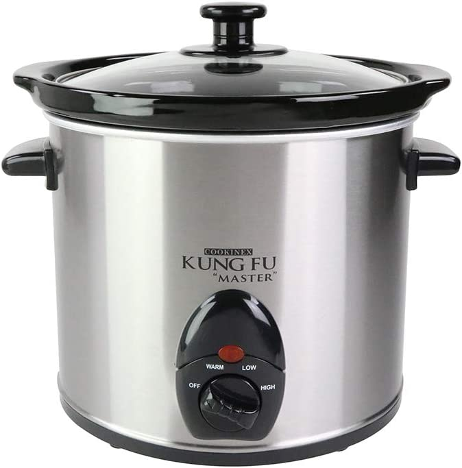 STAINLESS STEEL SLOW COOKER (3 L)