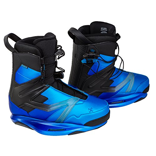 Ronix 2017 Kinetik Project Intuition (Galactic Blue) Wakeboard Bindings