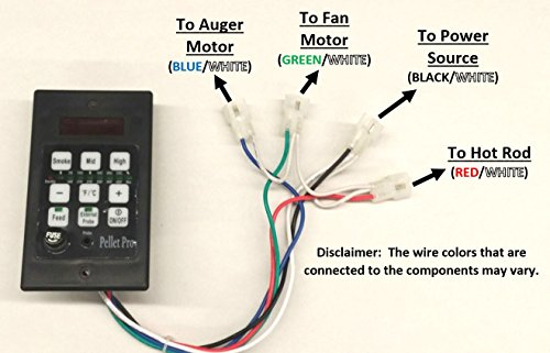 amazon com pellet pro pid pellet grill controller for traeger pit rh amazon com Green Mountain Grill Daniel Boone Wiring-Diagram GMG Pellet Smokers