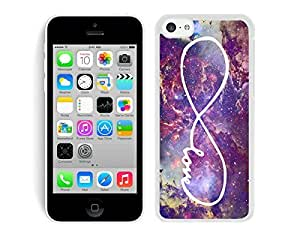 Popular Nebula Infinity Love Galaxy Iphone 5c Case White Cover Iphone 5c Case White Cover Best Gift for Girl Friend Cell Phone Accessories