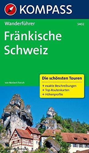 WF 5402 Fränkische Schweiz Wanderführer mit Tourenkarten und Höhenprofilen