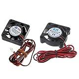 DC 24V 2Pin Cooling Fan 40mm 4cm 40x 40x 10mm 4010S 3D Printer 9BLADE CPU New