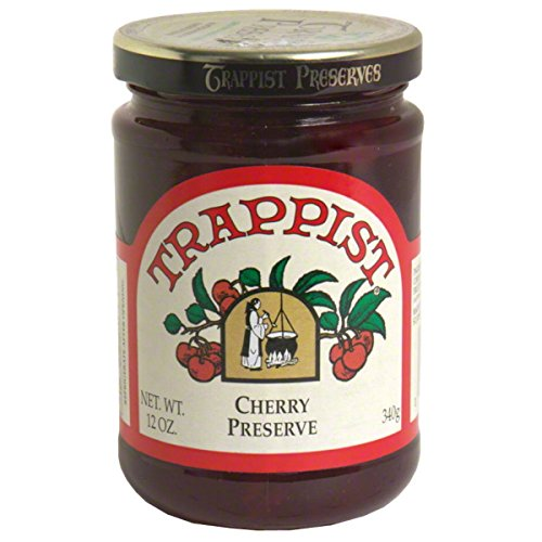 Trappist Cherry Preserve - All Natural 12 oz.