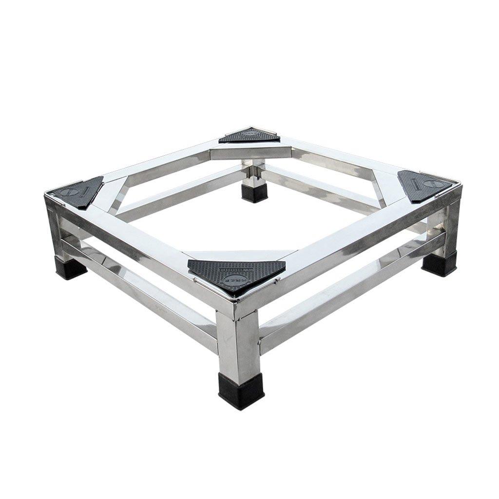 Increased Shelf AI Heightening Base Large Appliance Base Stainless Steel Base Rectangular Base Non-Slip (Size : 15 cm (5.91 inches))
