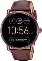 Fossil Q Wander Gen 2 Wine Leather Touchscreen Smartwatch FTW2113