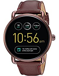 Fossil Q Wander Gen 2 Touchscreen Wine Leather Smartwatch