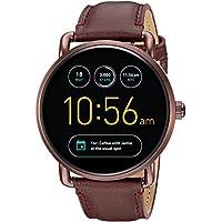 Q Wander Gen 2 Wine Leather Touchscreen Smartwatch FTW2113
