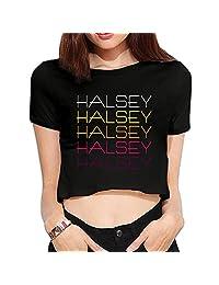 Custom Women Halsey Crop Top