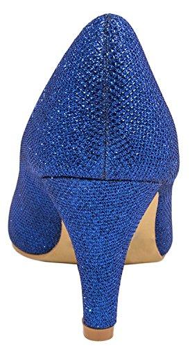 Elara Elara Elara Coupe Coupe Bleu Bleu fermées femme femme Coupe fermées dRYwwCxqA
