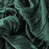 Silky Scrunch Wrinkled Look Infinity Circle Ring Scarf