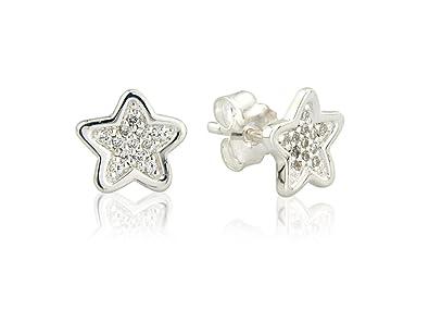 99d367948 Gemma J Sparkly Star Studs: Amazon.co.uk: Jewellery