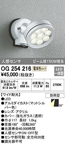オーデリック LEDアウトドアスポットOG254216