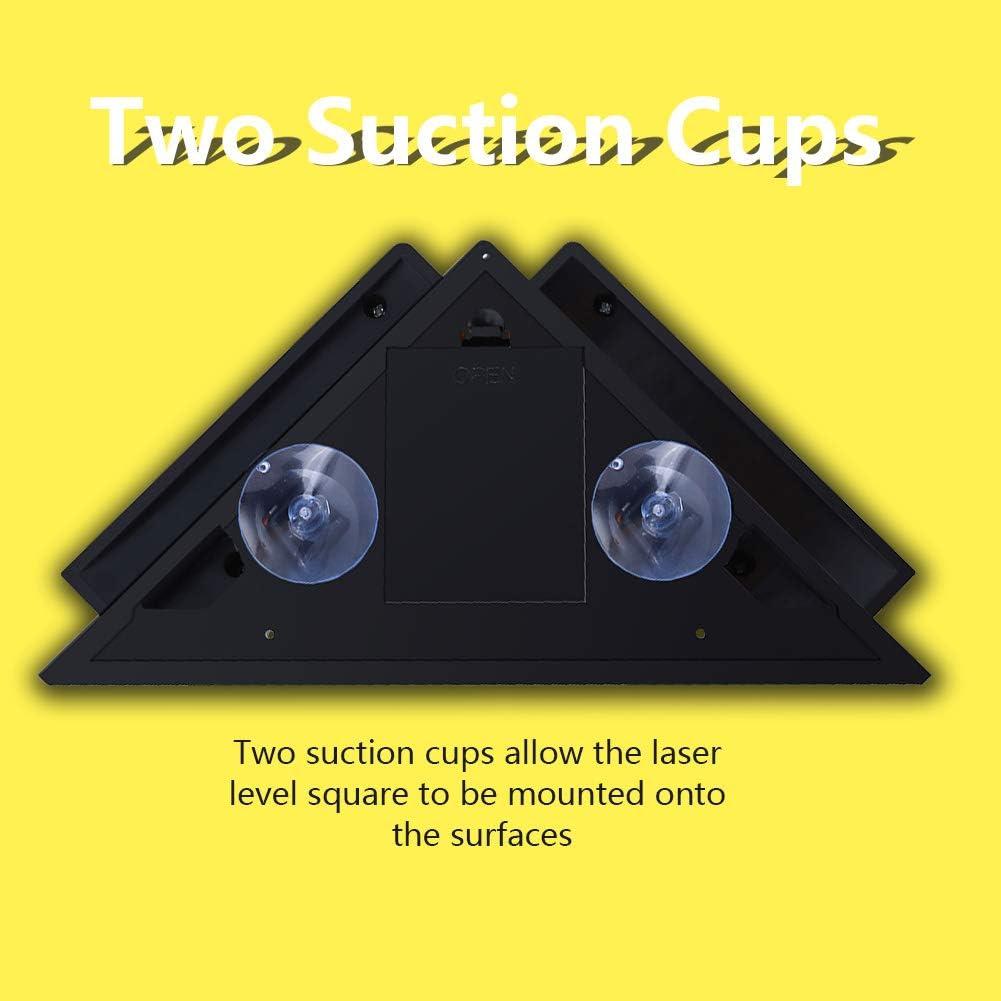 Niveau laser angle droit Outil de disposition de projection de niveau laser /à ligne horizontale verticale /à 90 degr/és