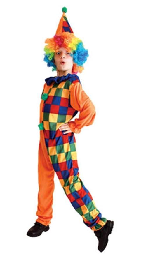 OOFAY Conjunto de Disfraces de Payaso para niños, Disfraz de ...
