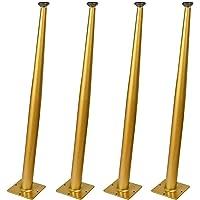 WYBW Meubelondersteuning Voeten,4 Meubelpoten, Meubelvoeten Tafelpoten Schuine Cone Meubels Ondersteuning Benen Bureau…