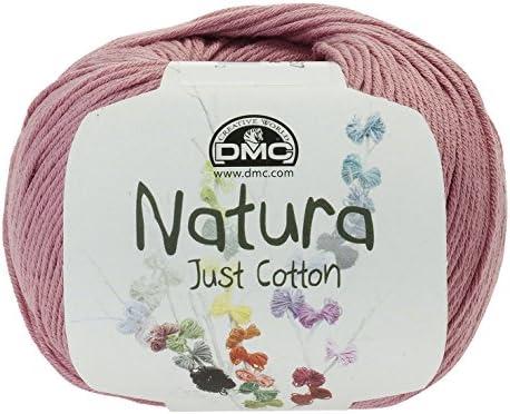 DMC Ovillo de Hilo Natura, 100% de algodón, en Color Rosa Palo N07: Amazon.es: Hogar