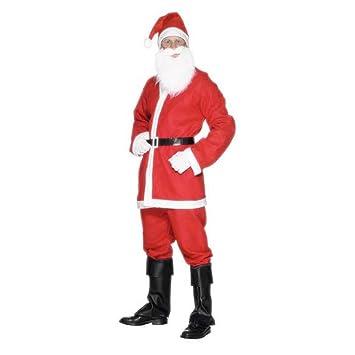 Charles Bentley Los Hombres de la s Mujeres Padre de Navidad del Juego de Santa Vestido Carrera Popular