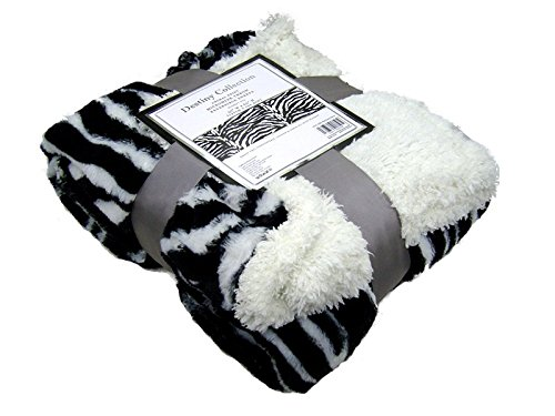Zebra Throw Blanket - 5