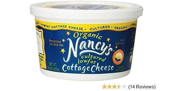 nancy s cultured cottage cheese low fat 16 oz amazon com rh amazon com