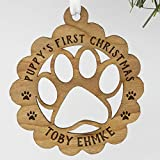 Puppy's First Christmas Personalized Ornament For Dogs