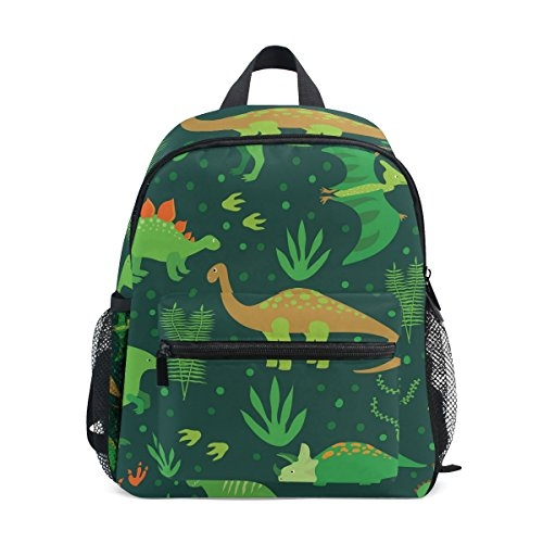 Green Dinosaurs PreSchool Bag