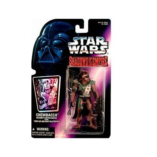 Star Wars Shadows of the Empire Chewbacca in Bounty Hunter Disguise Action Figure (Bounty Hunter Toy)