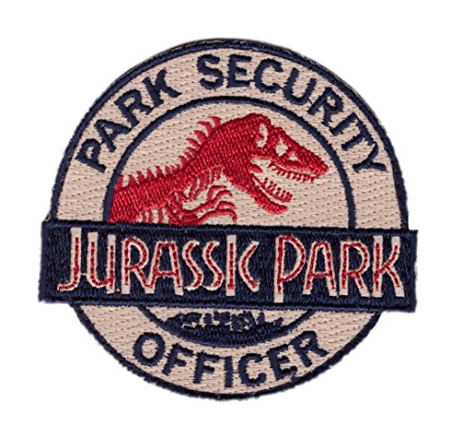 Hook Jurassic Park Ranger Security Officer Costume Backpack Tactical Patch