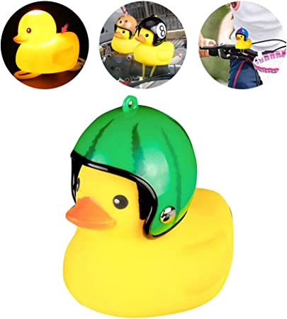 Cute Handlebar Rubber Helmet Duck Bell Bike Car baby stroller Bicycle Bells Gift