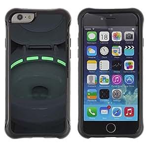 """Hypernova Defender Series TPU protection Cas Case Coque pour Apple Iphone 6 [Aseo Verde luz de neón Tazón""""]"""