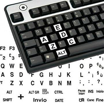 adesivitastiera. it – Pegatinas teclado etiquetas grandes ITA ...