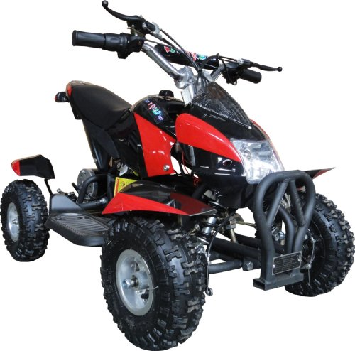 NEW UPGRADED MODEL Electric Youth ATV Sport Quad for Children with Reverse...