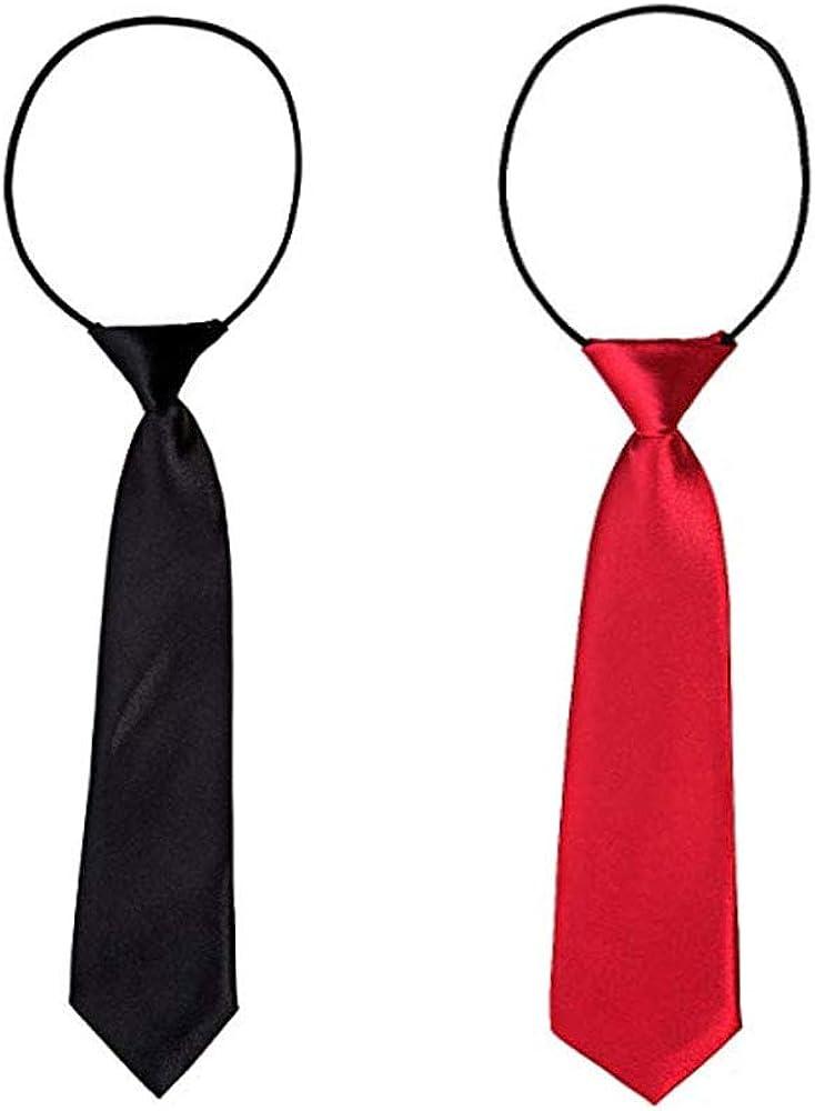 2 piezas corbatas de niño, corbata elástica de bodas para niños de ...