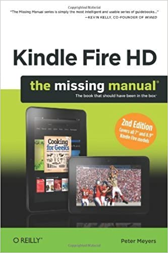 Book Kindle Fire HD: The Missing Manual by Peter Meyers (2013-02-07)
